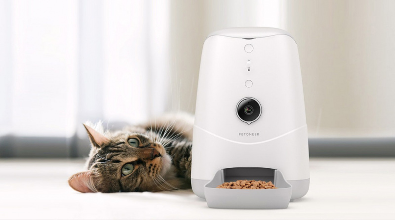 Petoneer Nutri Vision 智能寵物餵食器 (鏡頭版)