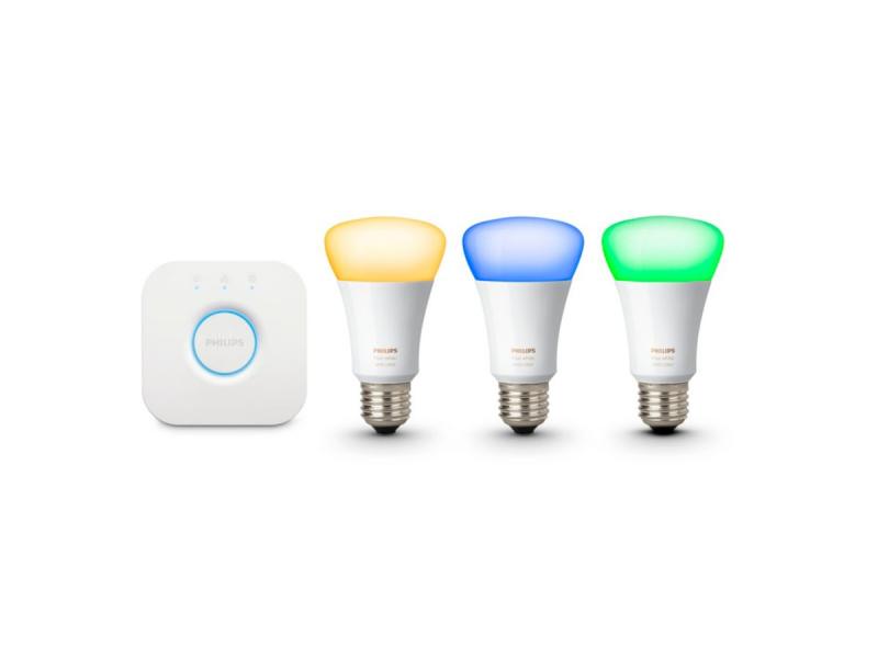 [香港行貨] Philips Hue Ambiance HUE White and Color RGB Bulb Starter Kit E27