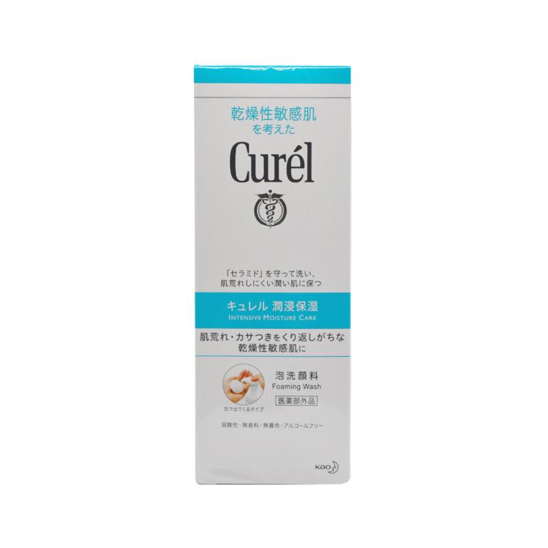 Curél 珂潤 豐盈泡沬潔面乳150ml