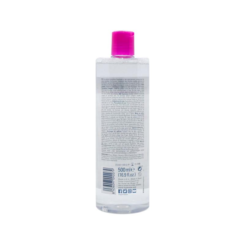 BYPHASSE 無添加深層卸妝潔膚水 (500ml)