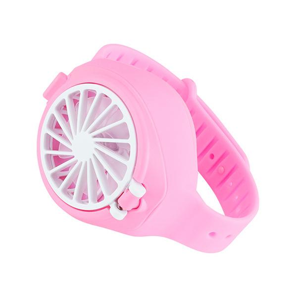 日本TSK - 迷你創意USB充電 三檔靜音兒童風扇手錶