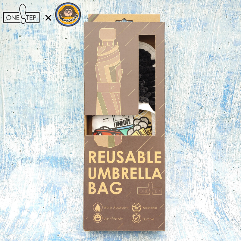 OneSTEP 「遨遊世界」環保短遮袋