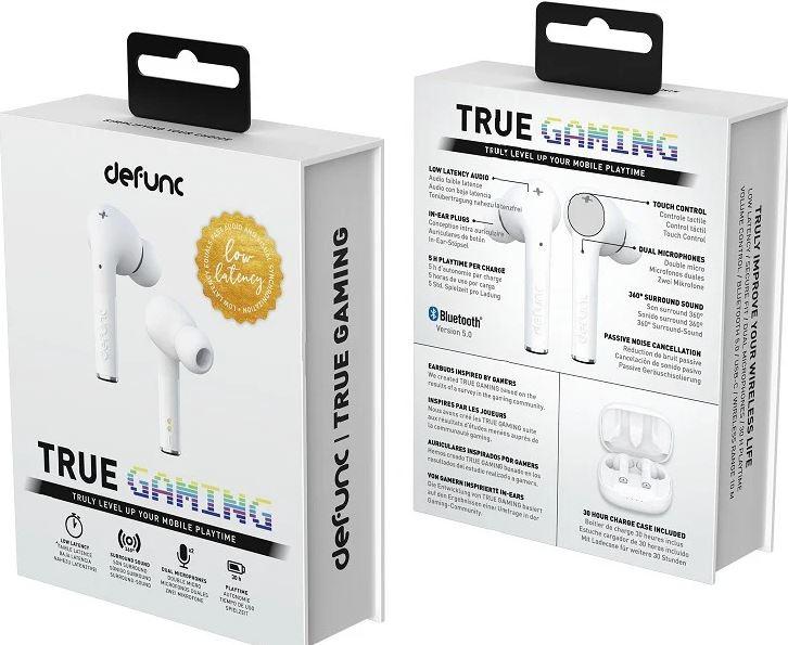 Defunc True Gaming 獨特環迴立體聲電競真無線藍牙耳機