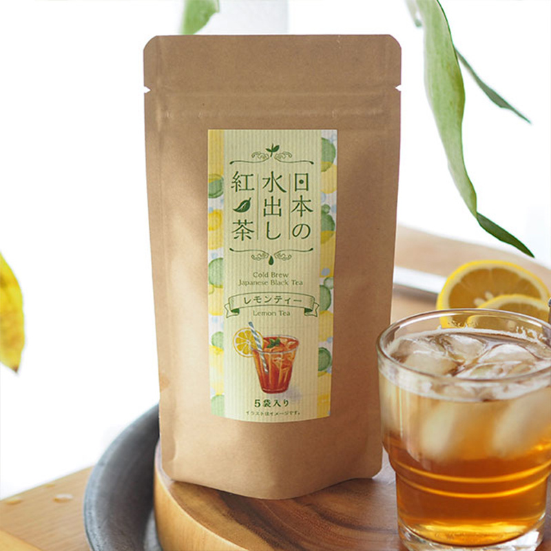 日版Tea Boutique 水出紅茶 冷泡檸檬茶 (5包)【市集世界 - 日本市集】