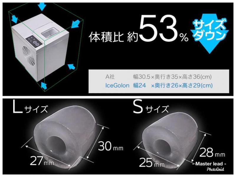 日本 Thanko 桌上超小型高速製冰機 ICE Golon 🧊