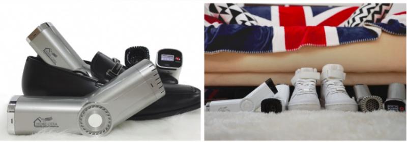韓國 Home-Cera 鞋子專用殺菌抽乾神器[白色]
