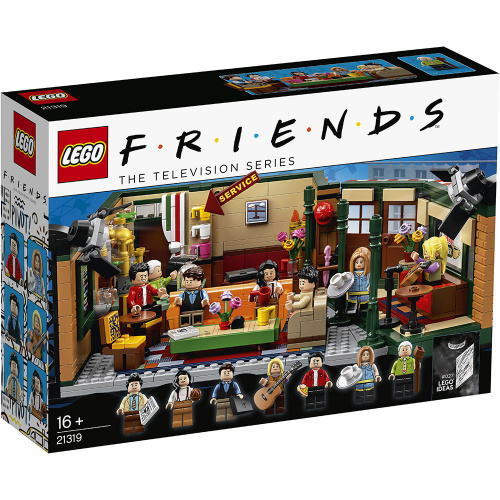 LEGO®Ideas 21319 美國劇集Friends 中央咖啡廳