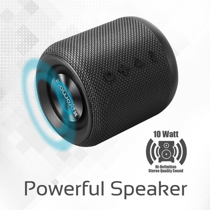 Promate Hummer -10W Portable Bluetooth Speaker 大輸出 便携 勁低音 音箱/啦叭