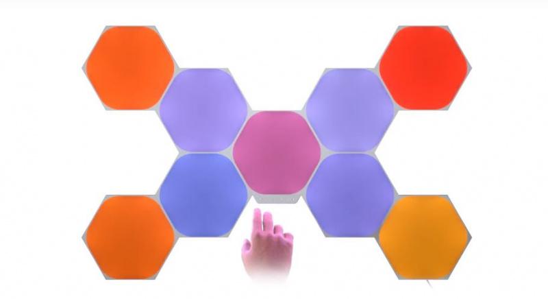 Nanoleaf Shapes Hexagon Smarter Kit 智能照明套裝 9件六角型 香港行貨