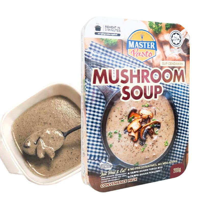 Master Pasto - 3分鐘即食輕盈蘑菇湯 [200g]