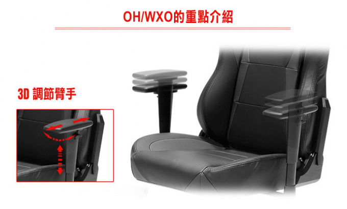 DXRacer Wide series WX0 賽車電競椅