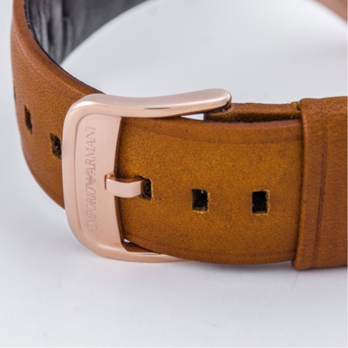 Emporio Armani AR11043 Lambda 男士皮帶手錶