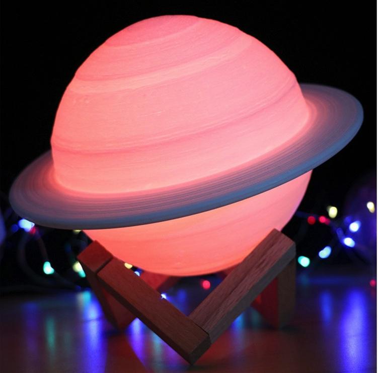 3D 土星造型燈15cm