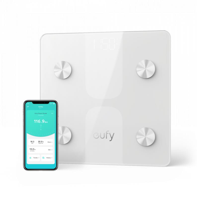 Eufy 智能電子體脂磅 C1 [2色]