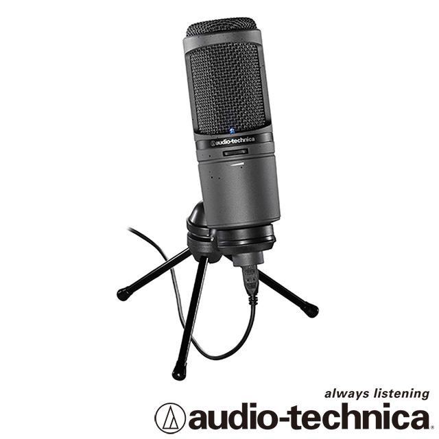 [香港行貨] Audio Technica 靜電型電容式麥克風 AT2020USBi