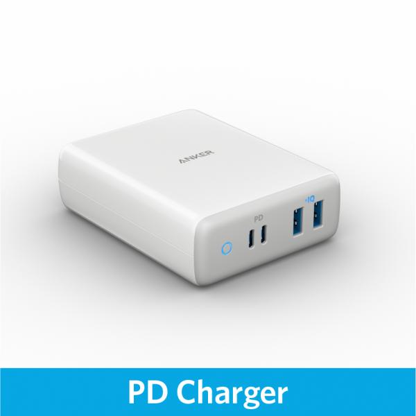 Anker PowerPort Atom PD 4 雙PD 4 USB輸出桌上充電器