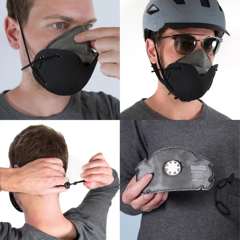 意大利製造 Banale MASK活性碳五層防護過濾口罩