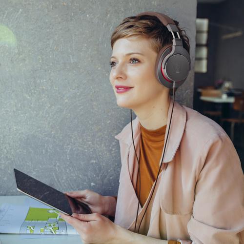 Audio-Technica ATH-MSR7b 便攜式耳筒