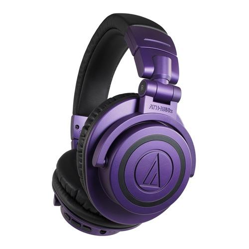 Audio-Technica ATH-M50xBT PB 紫色限量版無線藍牙耳筒
