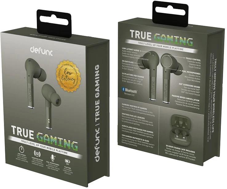 Defunc True Gaming 低延遲模擬360°環迴音效真無線耳機