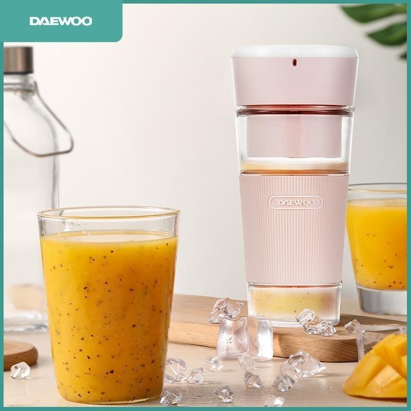 DAEWOO韓國大宇家電 - 無線便攜式電動榨汁杯