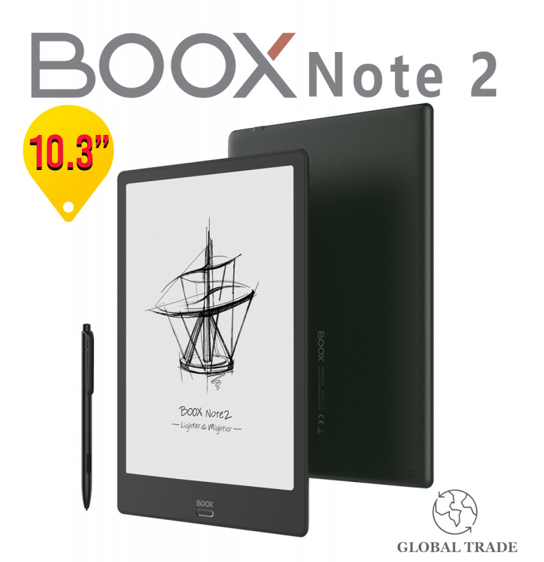 """【新品旗艦】BOOX Note2 10.3"""" 電子閱讀器 【Price專屬優惠】:原裝價值$298,保護套+防眩光保護貼"""