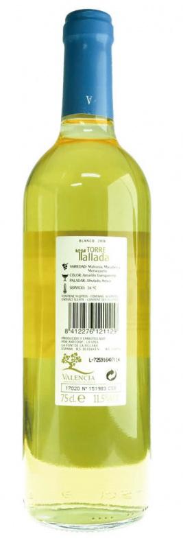 西班牙Torre Tallada Blanc白酒 750ml