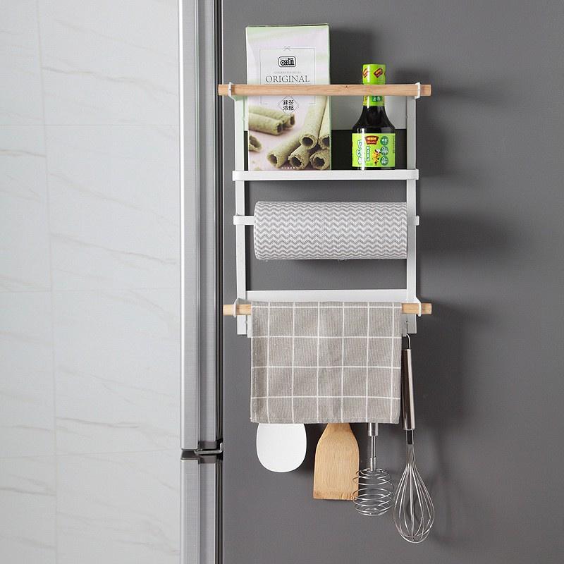 日式磁吸雪櫃洗衣機金屬掛架