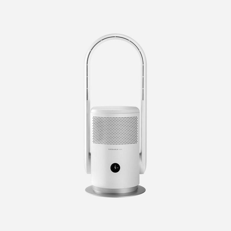 Momax - SMART IoT Ultra-Air 智能紫外光 H13 PM 2.5 空氣淨化無葉風扇