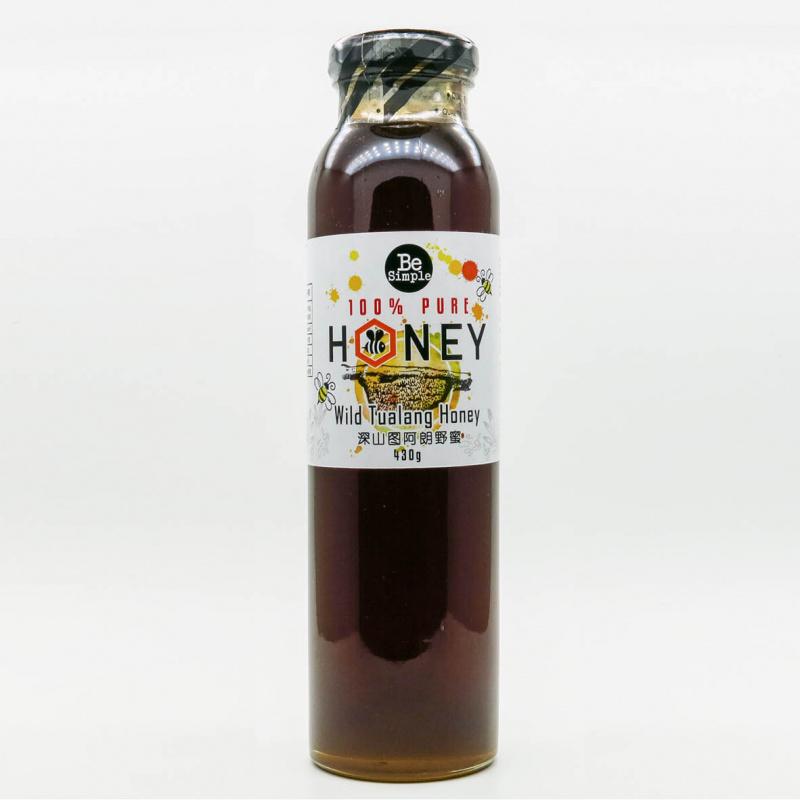馬來西亞BE SIMPLE 純正100%深山圖阿朗野生蜂蜜[430g]