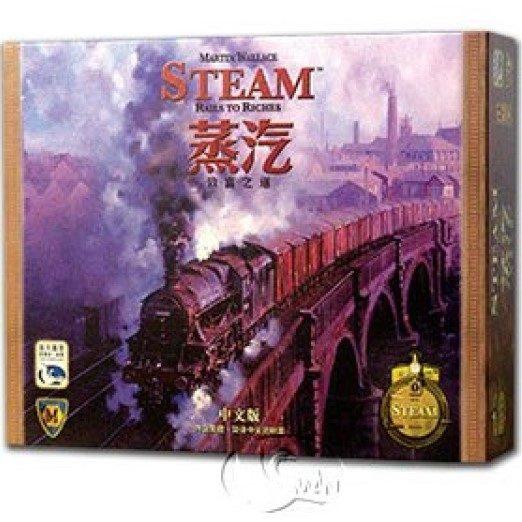 Steam : Rails to Riches 蒸氣:致富之道
