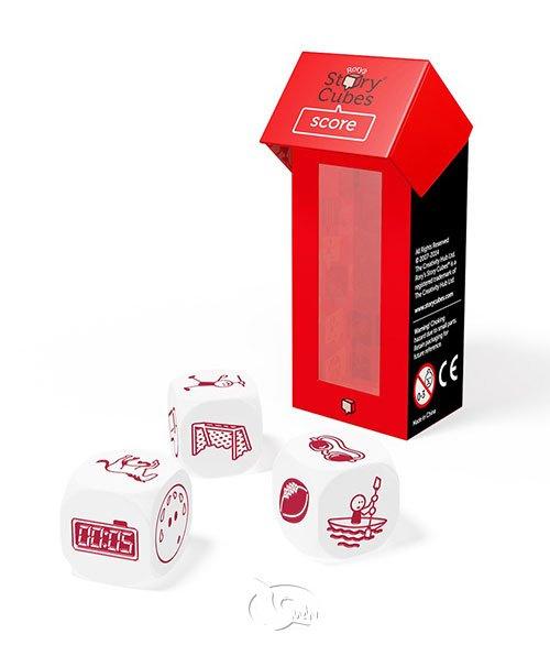 Rory's Story Cubes - Score 故事骰 - 運動篇