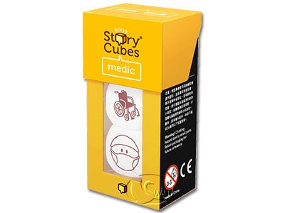 Rory's Story Cubes - Medic 故事骰 - 醫療篇