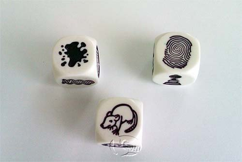 Rory's Story Cubes - clues 故事骰 - 偵探篇