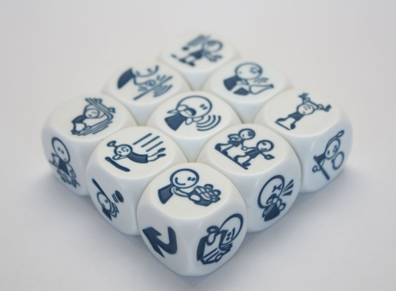 Rory's Story Cubes - Actions 故事骰 - 行動篇