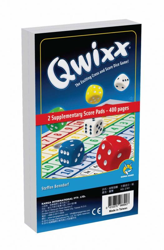 Qwixx Score Sheets 快可思 - 補充計分組