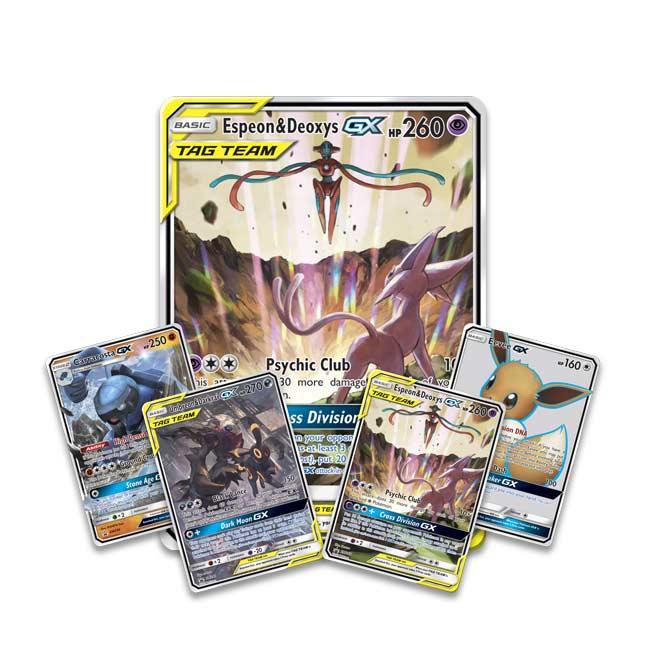 Pokemon TCG Tag Team Powers Collection 精靈寶可夢 集結能量組
