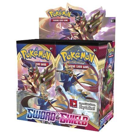 Pokemon TCG SS1 Sword & Shield Booster (Box) 精靈寶可夢TCG 劍與盾 第1季 補充包 (1盒)