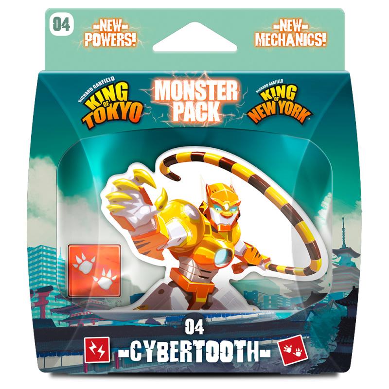 Monster Pack – Cybertooth 東京之王/紐約怪物包: 電子虎