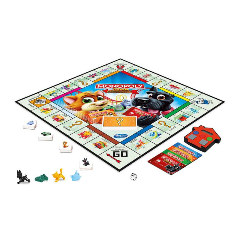 Monopoly Junior Ele Banking 大富翁 小小遊樂場 電子銀行