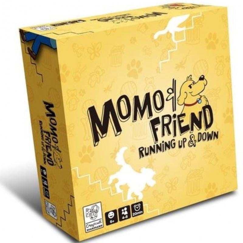 Momo & Friend Running Up & Down