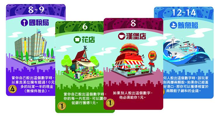 Machi Koro:Harbor 骰子街:港口擴充
