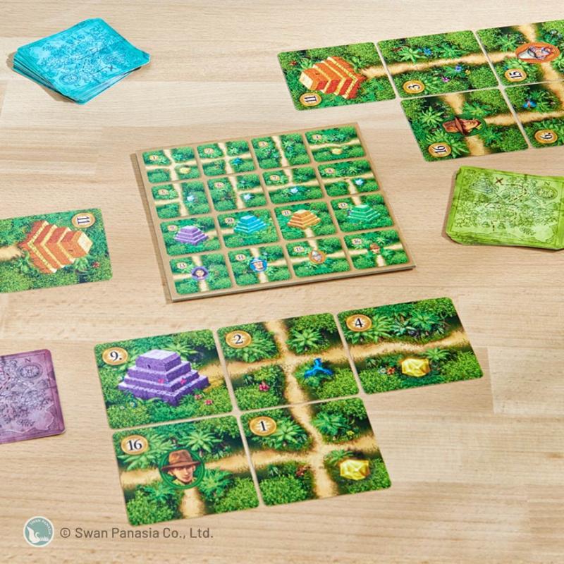 Karuba: The Card Game 卡魯巴紙牌版