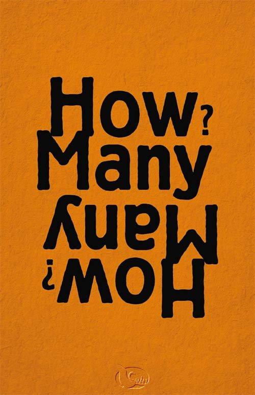 How Many? 有幾個? (英文/橙色)