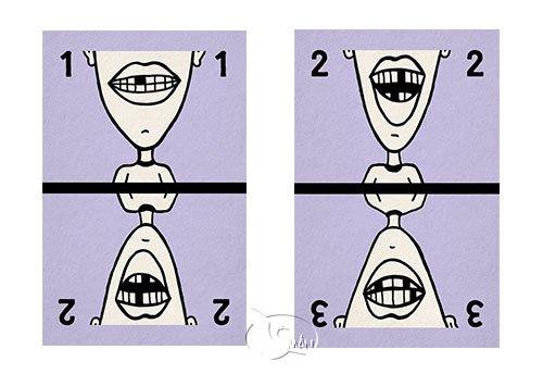 How Many Teeth Purple 有幾個?(牙齒紫色)