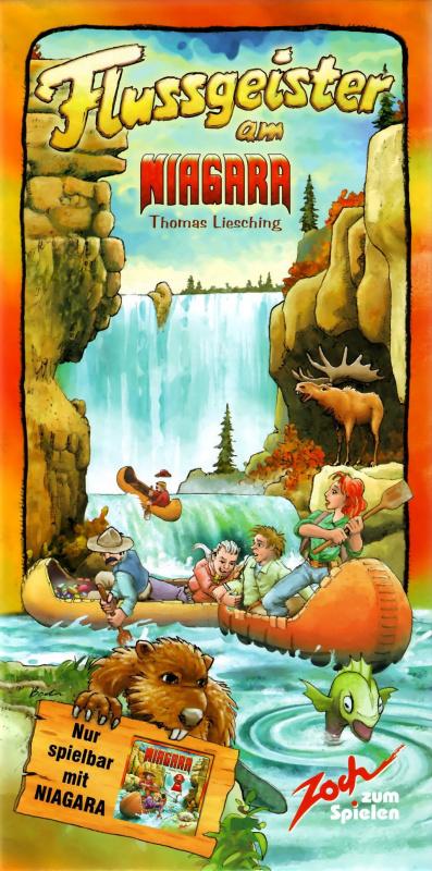 Flussgeister am Niagara 瀑布淘金客:尼加拉精神