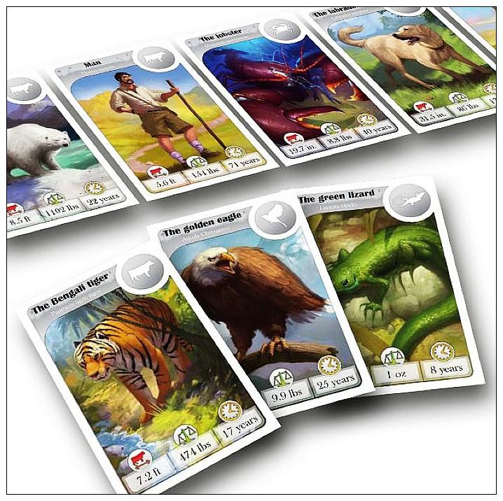 Cardline Animals 知識線:動物篇