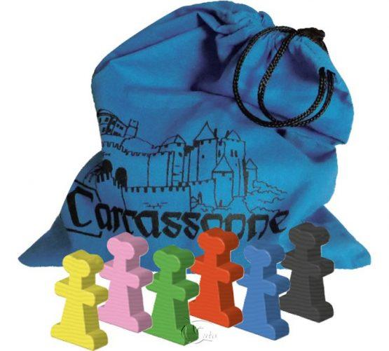 Carcassonne 2.0 Traders&Builders 卡卡頌 2.0 小豬與建築師