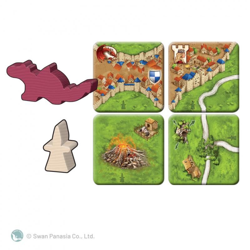 Carcassonne 2.0 Princess & Dragon 卡卡頌2.0 公主與火龍