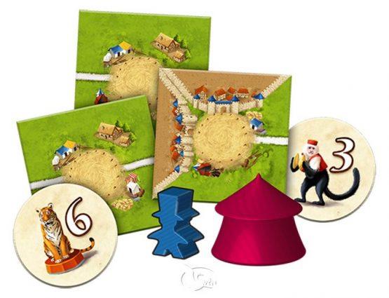 Carcassonne 2.0 Manege frei! 卡卡頌2.0 馬戲團